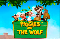 Автомат Piggies And The Wolf на реальные деньги