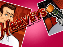 Harveys: игровой аппарат с фриспинами и множителями от Microgaming
