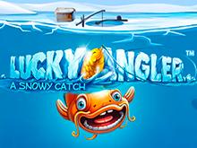 Классическое игровое меню NetEnt в автомате Везучий Рыбак — Зимний Улов